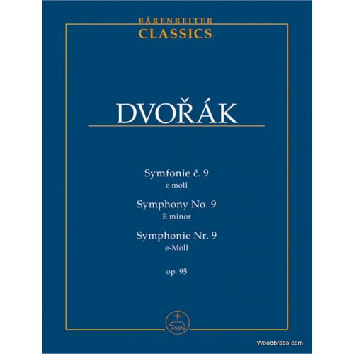 BARENREITER DVORAK A. - SYMPHONIE Nr 9 E-MOLL OP.95 - CONDUCTEUR