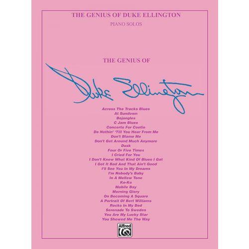 ALFRED PUBLISHING ELLINGTON DUKE - GENIUS OF DUKE ELLINGTON - PIANO SOLO
