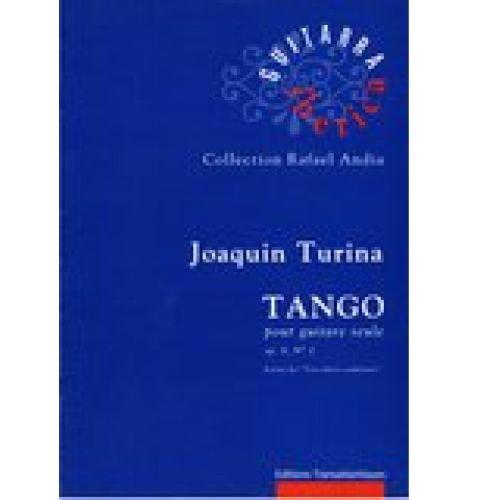 TRANSATLANTIQUES TURINA JOAQUIN - TANGO OP.8 N°2 - GUITARE SEULE