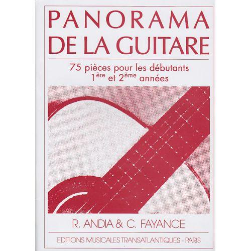 TRANSATLANTIQUES ANDIA / FAYANCE - PANORAMA DE LA GUITARE VOL.1