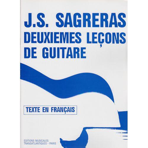 TRANSATLANTIQUES SAGRERAS J.S. - DEUXIEMES LEÇONS DE GUITARE