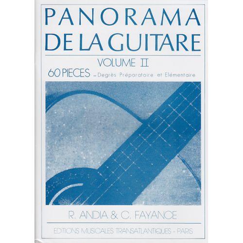 TRANSATLANTIQUES ANDIA/FAYANCE - PANORAMA DE LA GUITARE VOL.2