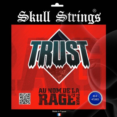 SKULL STRINGS TRUST RAGE TOUR 2016 BASS