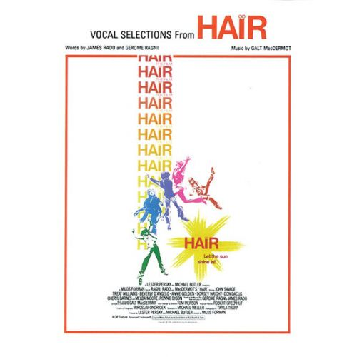 ALFRED PUBLISHING MACDERMOT, RADO AND RAGNI - HAIR (VOCAL SELECTIONS) - PVG