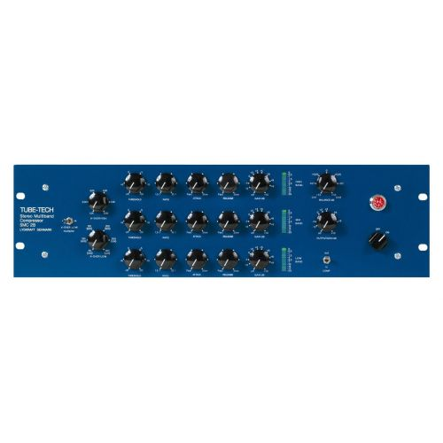 TUBE TECH COMPRESSEUR STEREO MULTIBANDE A LAMPES SMC 2B