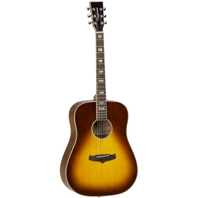 TANGLEWOOD EVOLUTION IV DREADNOUGHT AMBER BURST VINTAGE