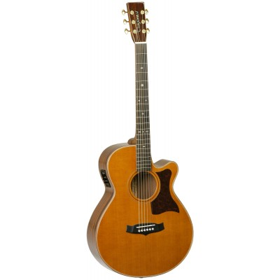 TANGLEWOOD HERITAGE SUPER FOLK NATURAL GLOSS