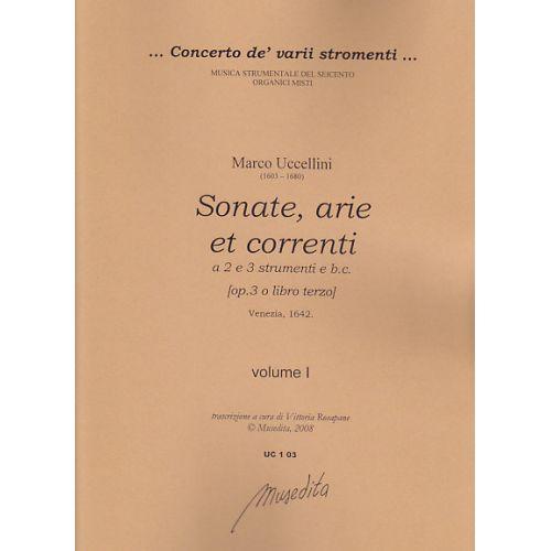 MUSEDITA UCCELLINI M. - SONATE, ARIE E CORRENTI OP. 3 - VIOLON