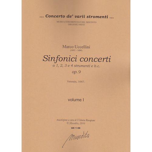 MUSEDITA UCCELLINI M. - SINFONICI CONCERTI OP. 9 - VIOLON