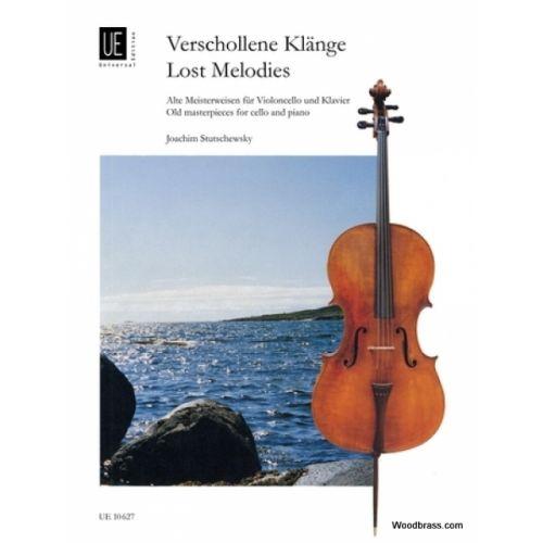 UNIVERSAL EDITION STUTSCHEWSKY J. - FORGOTTEN MELODIES - VIOLONCELLE ET PIANO