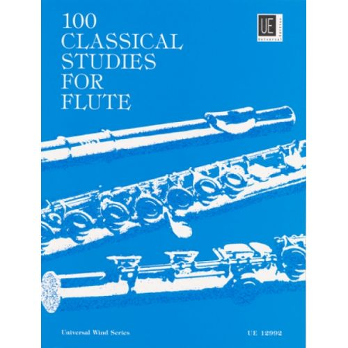 UNIVERSAL EDITION VESTER FRANS - 100 CLASSICAL STUDIES - FLUTE