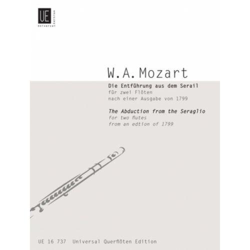 UNIVERSAL EDITION MOZART W.A. DIE ENTFüHRUNG AUS DEM SERAIL, NACH EINER AUSGABE VON 1799