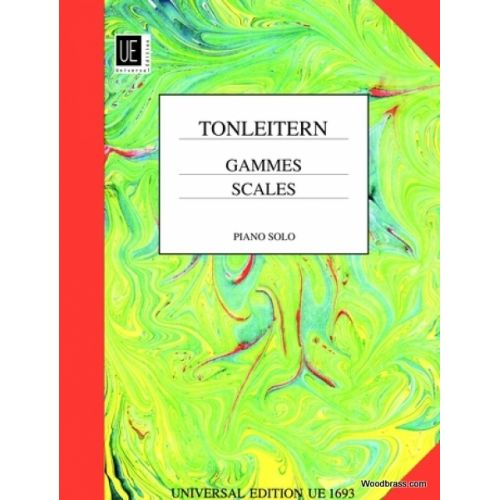 UNIVERSAL EDITION TONLEITERN - GAMMES - PIANO