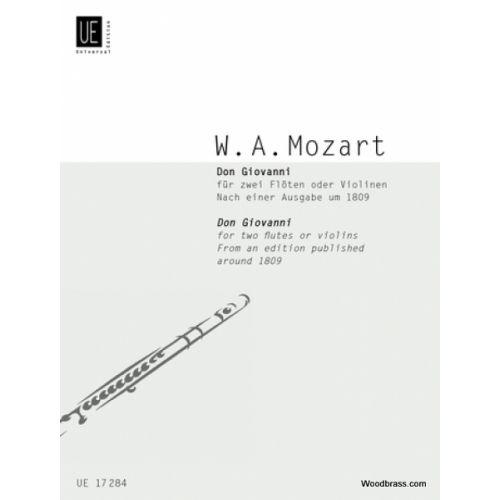 UNIVERSAL EDITION MOZART W.A. DON GIOVANNI, NACH EINER AUSGABE UM 1809