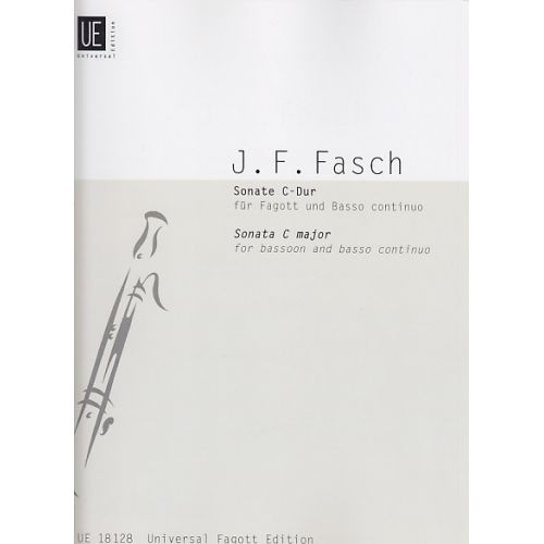 UNIVERSAL EDITION FASCH J.F. - SONATE - BASSON