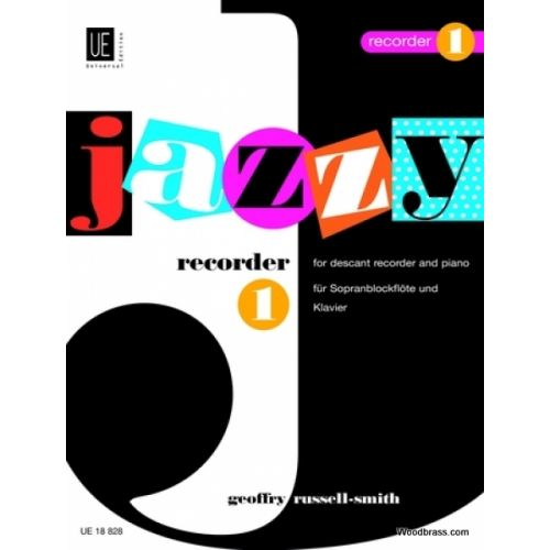UNIVERSAL EDITION RUSSELL-SMITH G. - JAZZY RECORDER 1 - JAZZY RECORDER 1
