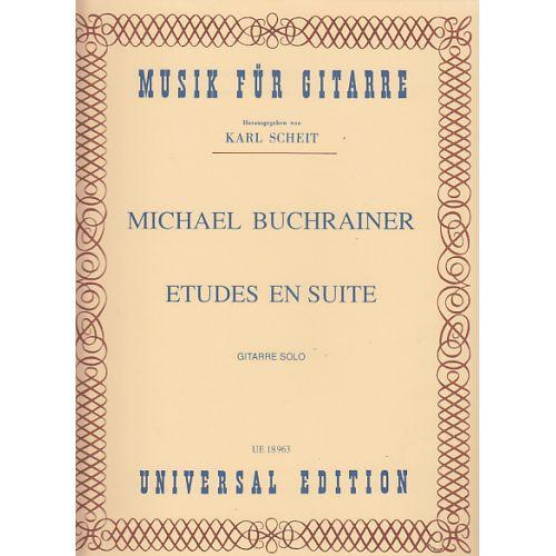 UNIVERSAL EDITION BUCHRAINER MICHAEL - ETUDES EN SUITE