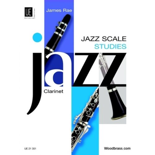 UNIVERSAL EDITION JAZZ SCALE STUDIES - CLARINETTE