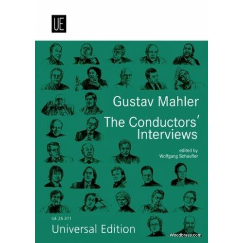 UNIVERSAL EDITION GUSTAV MAHLER - THE CONDUCTOR'S INTERVIEWS