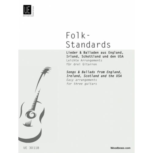 UNIVERSAL EDITION BRUCKNER KARL - FOLK-STANDARDS - 3 GUITARES
