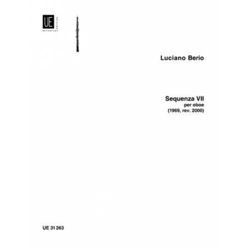 UNIVERSAL EDITION BERIO L. - SEQUENZA VII - HAUTBOIS