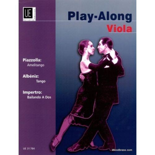 UNIVERSAL EDITION PLAY ALONG VIOLA + CD - TANGO