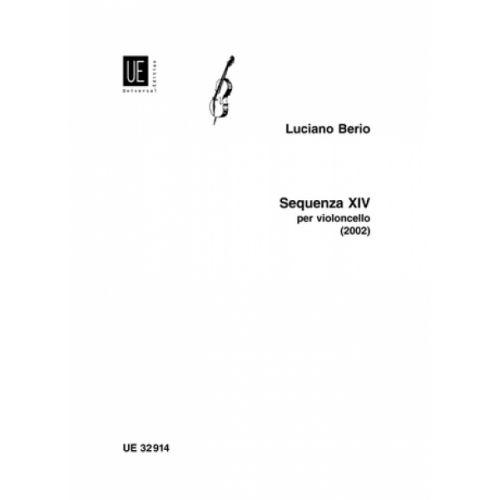 UNIVERSAL EDITION BERIO L. - SEQUENZA XIV - VIOLONCELLE