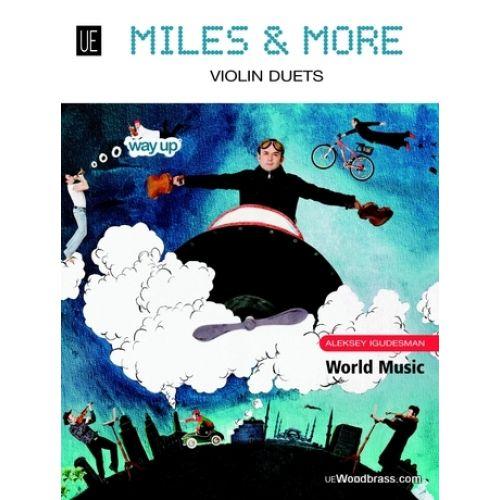 UNIVERSAL EDITION IGUDESMAN A. - MILES & MORE - 2 VIOLONS