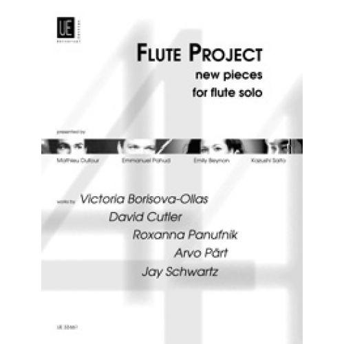 UNIVERSAL EDITION DIVERSE - FLUTE PROJECT - FLUTE