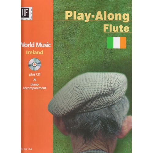 UNIVERSAL EDITION WORLD MUSIC IRELAND - FLUTE (PIANO AD LIB.) + CD