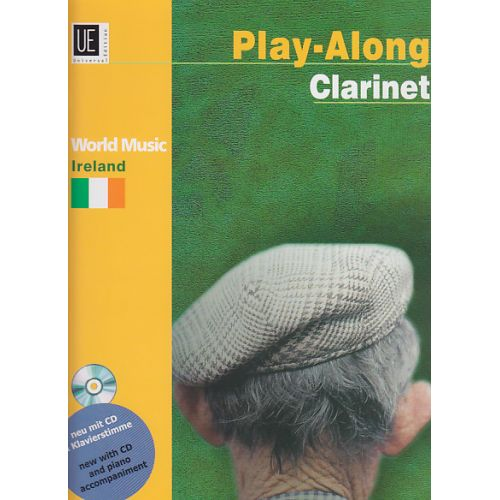 UNIVERSAL EDITION PLAY-ALONG CLARINET - IRELAND + CD