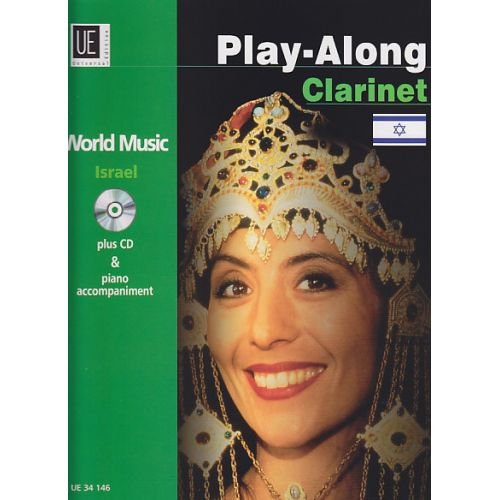 UNIVERSAL EDITION PLAY-ALONG CLARINET - ISRAEL + CD