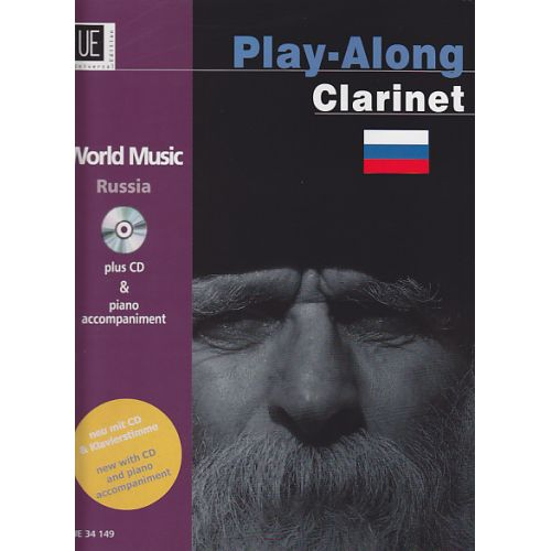 UNIVERSAL EDITION PLAY-ALONG CLARINET - RUSSIA + CD