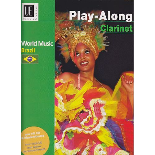 UNIVERSAL EDITION BRAZIL PLAY-ALONG CLARINET + CD
