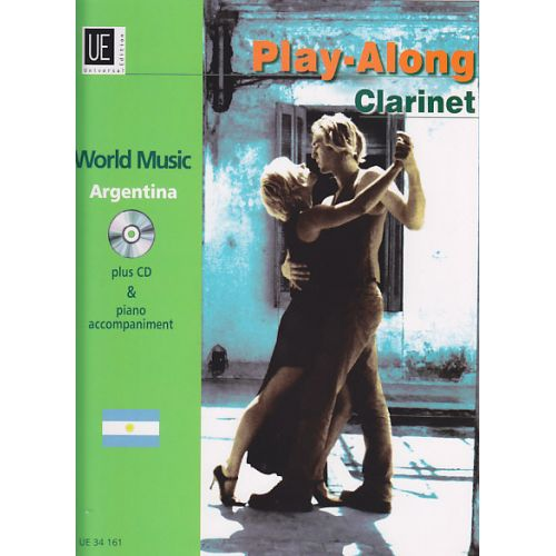 UNIVERSAL EDITION PLAY-ALONG CLARINET - ARGENTINA + CD