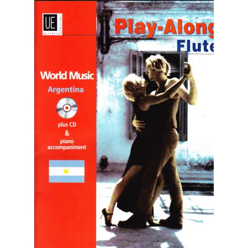 UNIVERSAL EDITION PLAY-ALONG FLUTE - COLLATTI DIEGO - ARGENTINA + CD