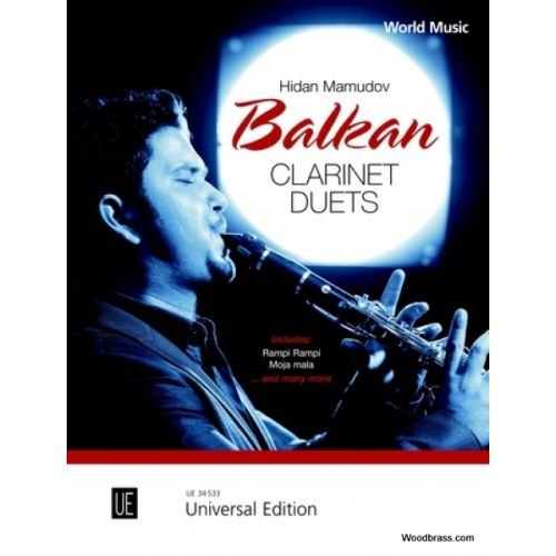 UNIVERSAL EDITION MAMUDOV H. - BALKAN CLARINET DUETS