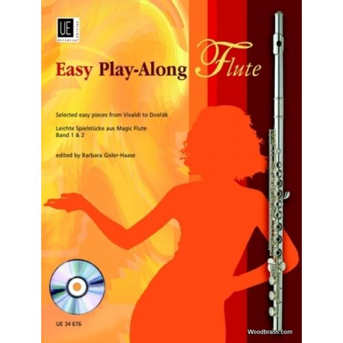 UNIVERSAL EDITION EASY PLAY-ALONG FLUTE + CD