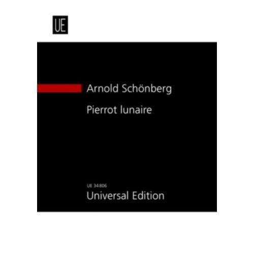 UNIVERSAL EDITION SCHONBERG A
