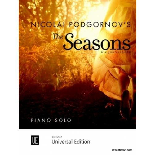 UNIVERSAL EDITION PODGORNOV NICOLAI - THE SEASONS - PIANO