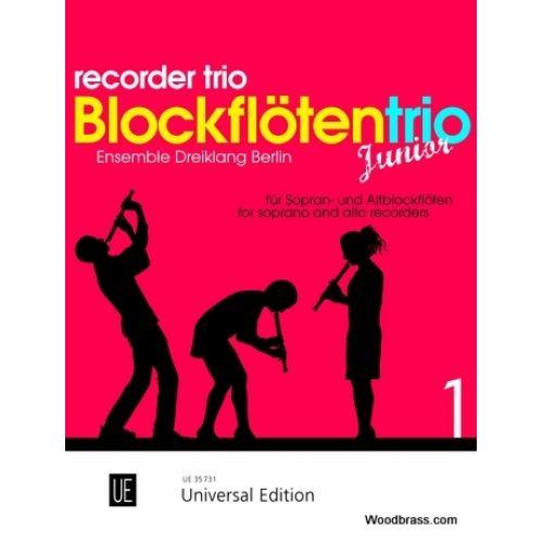 UNIVERSAL EDITION ROSIN S.C. - RECORDER TRIO JUNIOR