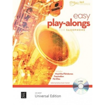UNIVERSAL EDITION EASY PLAY-ALONG FOR ALTO SAXOPHONE