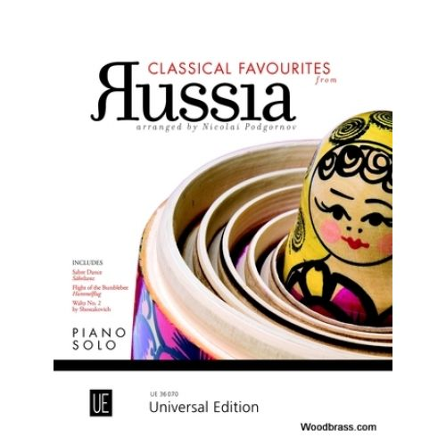 UNIVERSAL EDITION CLASSICAL FAVOURITES FROM RUSSIA - PIANO