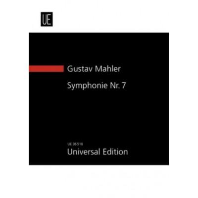 UNIVERSAL EDITION MAHLER G. - SYMPHONIE N°7 E-MOLL - CONDUCTEUR