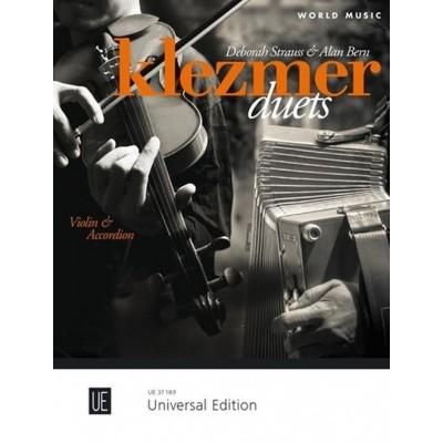 UNIVERSAL EDITION STRAUSS D. & BERN A. - KLEZMER DUETS - VIOLON & ACCORDEON