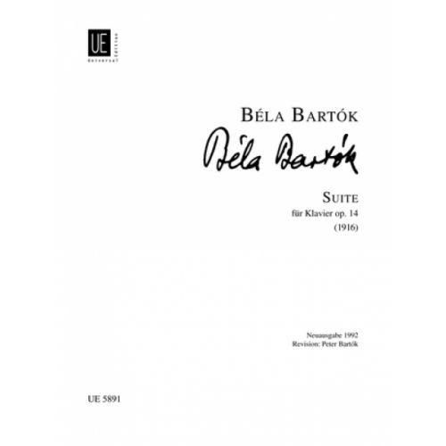 UNIVERSAL EDITION BARTOK BELA - SUITE OP.14