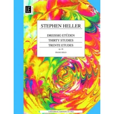 UNIVERSAL EDITION HELLER S. - 30 ETUDES PROGRESSIVES OP.46 - PIANO