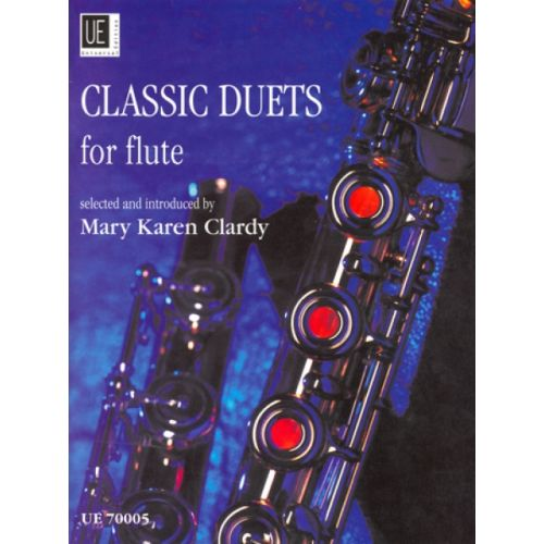 UNIVERSAL EDITION CLASSIC DUETS FOR FLUTE VOL. 1