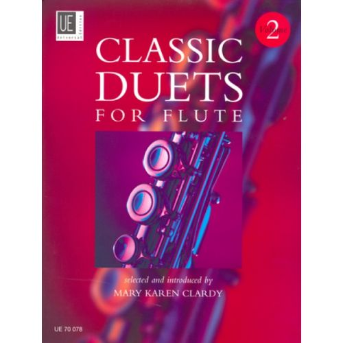 UNIVERSAL EDITION CLASSIC DUETS FOR FLUTE VOL. 2