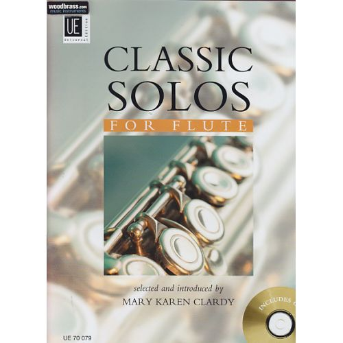 UNIVERSAL EDITION CLASSIC SOLOS FOR FLUTE VOL. 1 + CD